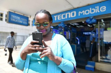 Chinas Mobile-phone Giant in Africa