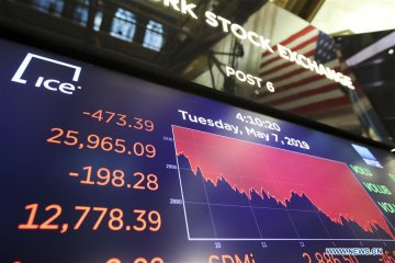 U.S. stocks close sharply lower amid trade fears