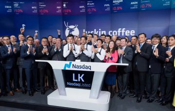 Chinas Luckin Coffee IPO lists on Nasdaq