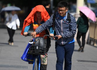 High temperatures to hit north China, rainfall in south