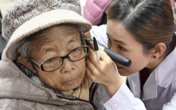 (Multimedia) China improves medical services for seniors