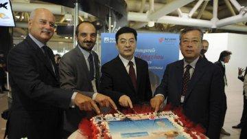 Air China Rome-Hangzhou direct flight inaugurated at Rome airport