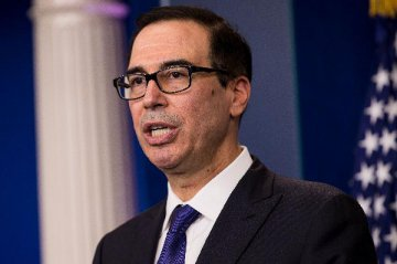 U.S. Treasury Secretary says very concerned about Libra cryptocurrency
