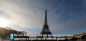 The digital tax is re-aggravating EU-U.S. trade tensions