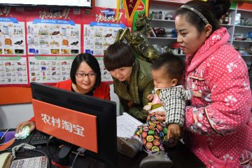 Chinas rural e-commerce registers rapid growth in H1