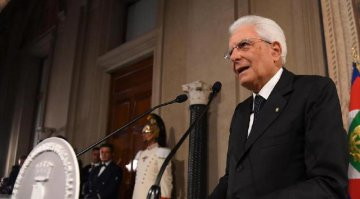 Italian president to decide on snap elections next week