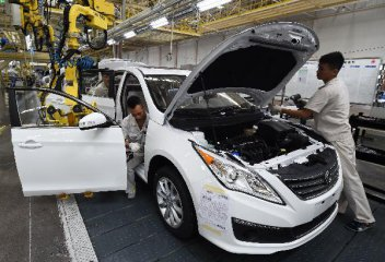 Chinas passenger car sales drop in August