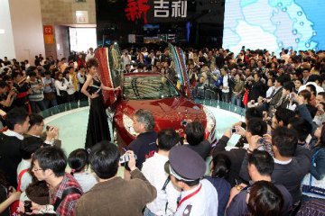 China automaker Geely sells over 1 mln cars in Jan.-Oct.