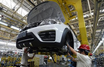Chinas passenger vehicle sales drop in October