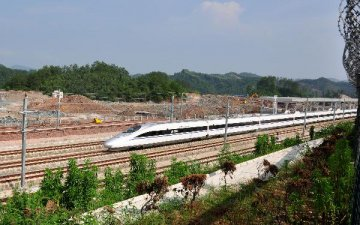 China to see IPO of top high-speed railway