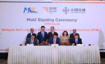 SME Bank sets aside funding for local contractors on East Coast Rail Link