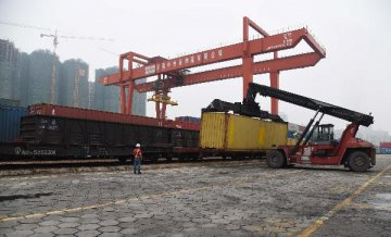 Chinas largest land port embraces two-way TIR transports