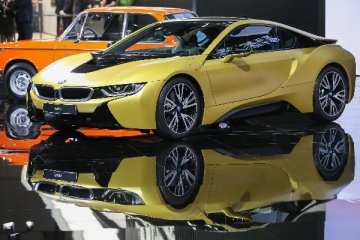 German carmaker BMW upgrades main plant for all-electric car production