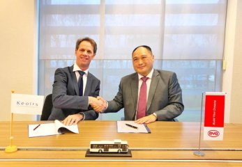 Chinas BYD lands large electric bus order in Netherlands