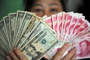 Chinese yuan strengthens to 6.8954 against USD Tuesday