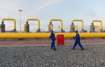 China-Kazakhstan crude oil piping stable in H1