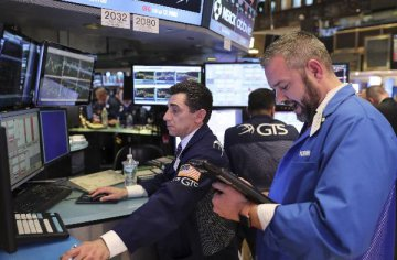 U.S. stocks open lower after Trump tests positive for COVID-19
