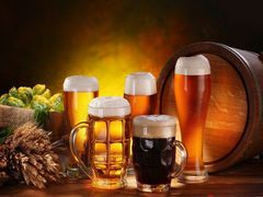 Chinas import of beer in August 2014