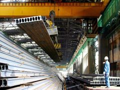 Chinese Q1-3 crude steel apparent consumption down 0.9 pct y-o-y, association