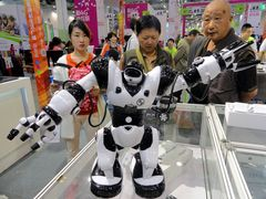 China eyes on boosting robotics industry