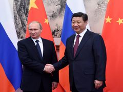 """China, Russia cultivate """"evergreen"""" friendship, cooperation"""