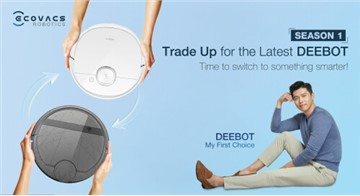 """ECOVACS partners Shopee in Thailand to get homeowners to """"Trade Up for the Latest DEEBOT"""" and usher a new era of smart and modern home cleaning lifestyle"""