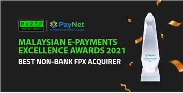 Razer Merchants Services Bags Best Non-Bank FPX Acquirer Award By Paynet For Industry Leading Growth