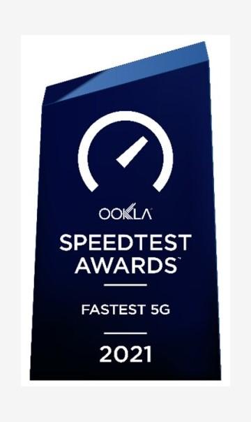 China Mobile Hong Kong Triumphs Hong Kong's Fastest 5G Network Award by Ookla®